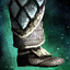 Knight's Tempered Scale Greaves