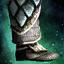 Ritterliche Gehärtete Schuppen-Beinschienen