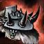 Wütender Gladiatoren-Schulterschutz