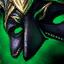 Wütende Maskeraden-Maske