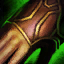 Wütende Gefiederte Handschuhe