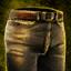 Pantalon de cuir rajeunissant