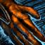 Energische Edelmann-Handschuhe