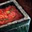 Pot de sauce tomate