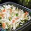 Bol de salade de chou cru