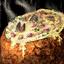 Bol de potage aux palourdes