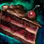 Gâteau au chocolat-cerise