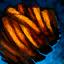 Frittierte Süßkartoffel