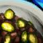 Bol de chili aux courgettes