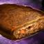 Scheibe würziges Brot
