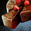 Gâteau au chocolat-framboise