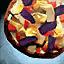 Super pizza végétarienne