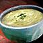 Bol de soupe poireau-pommes de terre