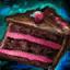Gâteau au chocolat-baies d'Omnom