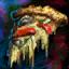Pizza végétarienne rare