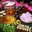 Plateau de biscuits chocolat-framboise