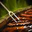 Grande assiette gourmande de steak à la truffe