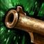 Canon de pistolet en orichalque