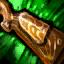 Crosse de fusil en bois ancien