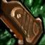 Monture de pistolet en bois ancien