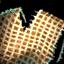 Panneau de tunique en jute