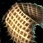 Rembourrage de garde-épaules de cuir brut