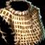 Bronze-Kettenbrustpanzerpolster