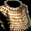 Bronze Chain Chest Padding