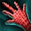 Panneau de gants en lin