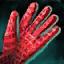 Rembourrage de gants en lin