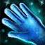 Rembourrage de gants en soie