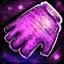 Panneau de gants en tulle
