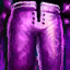Panneau de pantalon en tulle