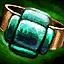 Smaragd-Orichalcum-Ring