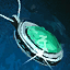 Beryll-Mithril-Amulett