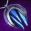 Sapphire Platinum Amulet
