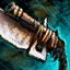 Arme de poing krait chevaleresque
