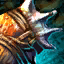 Carapace krait nécrophage