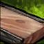 Harte Holzplanke