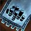 Insigne en coton brodé chasseur