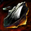 Obsidian-Scherbe
