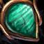 Geschmücktes Malachit-Juwel