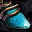 Bijou orné de turquoise