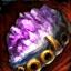 Vergoldetes Amethyst-Juwel