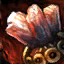 Vergoldetes Sonnenstein-Juwel
