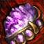 Verschönertes vergoldetes Amethyst-Juwel