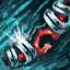 Verschönertes verziertes Korallen-Juwel