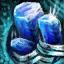 Embellished Ornate Sapphire Jewel