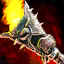 Shaman's Etched Wartorch of Rage