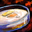 Cuenco de crema de caramelo